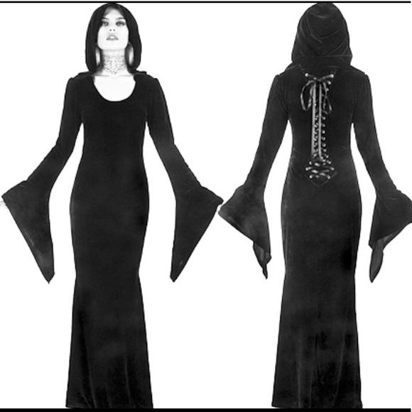 Killstar Dresses Hemlock Hooded Maxi Dress Poshmark